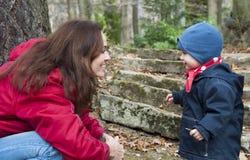 Madre y niño Fotografía de archivo