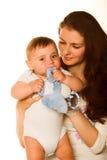 Madre y niño fotos de archivo