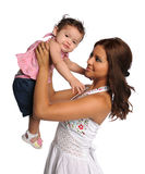 Madre y niño hispánicos Foto de archivo