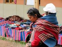 Madre y niño peruanos Imágenes de archivo libres de regalías