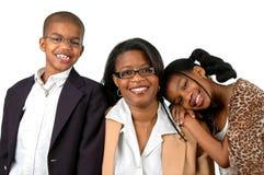 Madre y niños