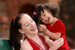 Madre y niños Fotografía de archivo libre de regalías
