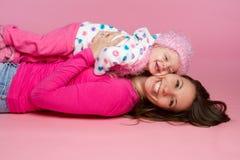 Madre y niño Imagen de archivo libre de regalías