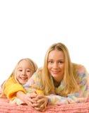 Madre y su hija Imágenes de archivo libres de regalías