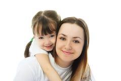 Madre y su hija Foto de archivo libre de regalías