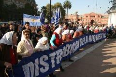 Madres de Mayo à Buenos Aires Photos stock