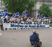 Madres de Plaza de Mayo Stock Images