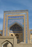 Madressa in ancient city of Khiva, Uzbekistan Royalty Free Stock Image