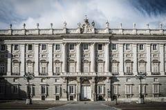 Madri de Royal Palace imagem de stock