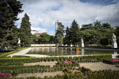 Madri de Royal Palace fotos de stock royalty free