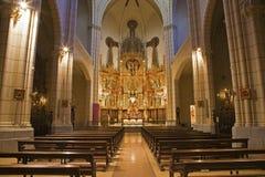 Madri - nave da igreja Santa Cruz Imagens de Stock Royalty Free