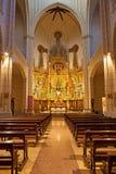 Madri - nave da igreja Santa Cruz Imagem de Stock Royalty Free