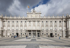 Madri Royal Palace Foto de Stock Royalty Free