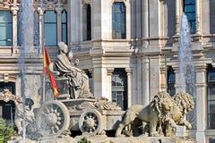 madrid Испания Стоковое Изображение