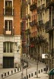 Madrid. The Madrid street, buildings and mood Stock Image