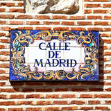 madrid Fotografia Royalty Free