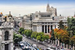 Madrid Arkivfoto