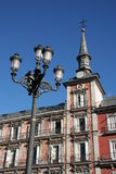 Madrid. Plaza in centre of Madrid Royalty Free Stock Photos
