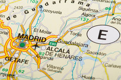 Madrid Stockbild