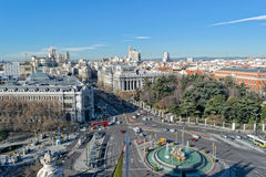 madrid image stock
