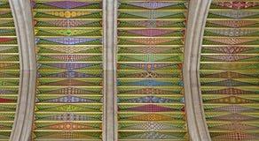 Madrid - affreschi moderni dalla cattedrale di Almudena Immagine Stock Libera da Diritti