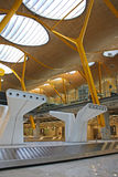 Madrid Airport Stock Photography