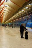 Madrid Airport Royalty Free Stock Photo