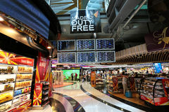 Madrid airport duty free Stock Images