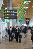 Madrid Airport Stock Images