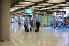 Madrid Airport Terminal 4 Stock Photo
