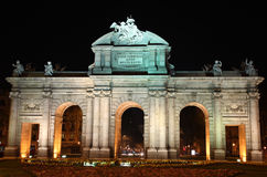 Madrid - Alcala Gatter Lizenzfreie Stockfotos