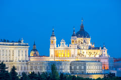 Madrid, Almudena Cathedral Fotografia Stock Libera da Diritti