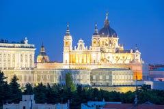 Madrid, Almudena Cathedral Immagine Stock Libera da Diritti