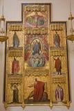 Madrid - altare laterale dal EL di San Jeronimo reale Immagine Stock Libera da Diritti
