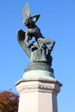 Madrid - angelo caduto Fotografie Stock