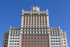 Madrid architecture Royalty Free Stock Images