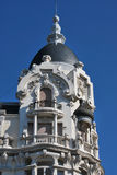Madrid architecture Stock Photography