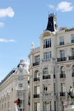 Madrid architecture Stock Images