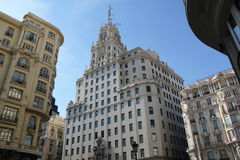 Madrid-Architektur lizenzfreies stockbild