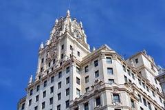 Madrid arkitektur royaltyfria bilder