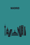 Madrid Stock Image