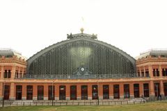 Madrid Atocha railway station Stock Image