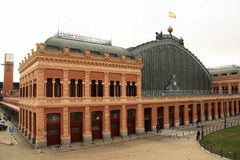 Madrid Atocha railway station Royalty Free Stock Photography