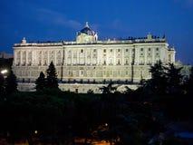Madrid, am 22. August 2017 photographischer Schuss von Royal Palace von lizenzfreie stockfotos