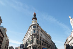 Madrid Banco Espanol de credito Royalty Free Stock Photography