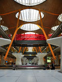 Madrid barajas airport. A shot of Madrid barajas airport terminal Stock Photography
