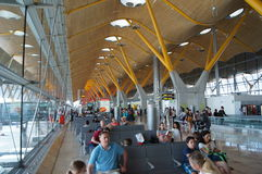 Madrid Barajas airport Royalty Free Stock Photo