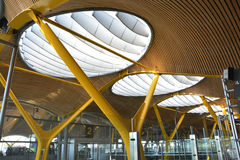 Madrid Barajas International Airport Royalty Free Stock Photography