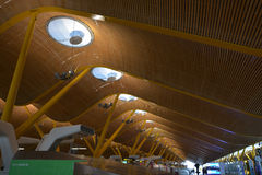 Madrid Barajas International Airport Stock Images