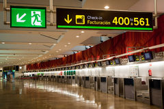 Madrid Barajas T3 Stock Foto's